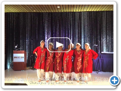 Kashmiri Dance Performance by Sanam Studios Dancers at APPNA Fall Mtg 2016 San Antonio, TX