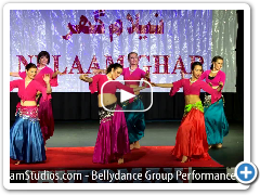 Sanam Studios Bellydance Group Performance 2012