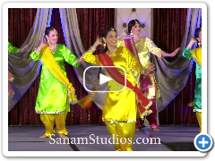 Punjabi Dance Performance by Sanam Studios Dancers at the Georgia APPNA Fashion Show